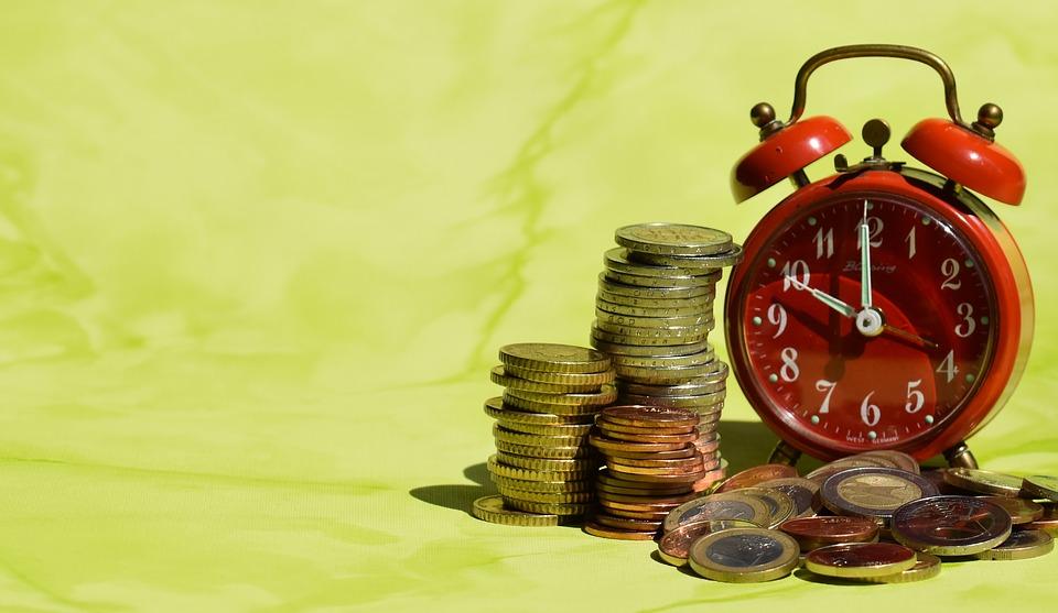 čas jsou mince