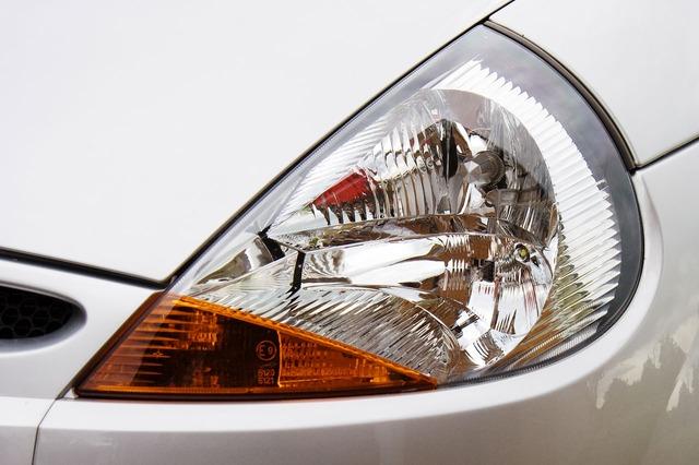 auto světlo přední