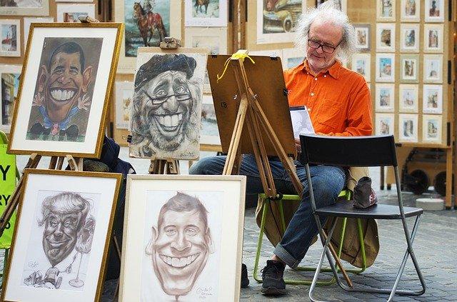 malíř portrétů